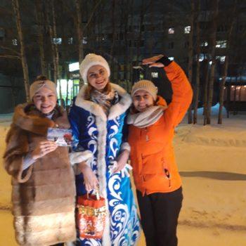 Новогодняя тонна 2020 Радио-Ноябрьск